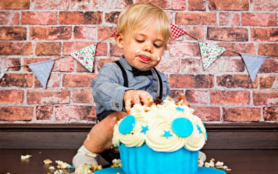 Alfie's Cake Smash and Family Shoot